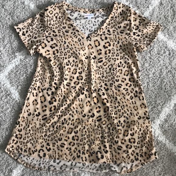 LuLaRoe Tops - LuLaRoe Leopard Christy
